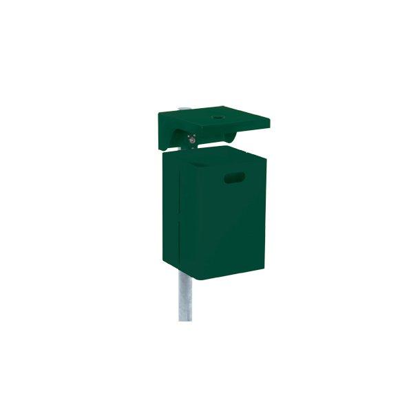 Affaldsspand med askebæger 40 l.