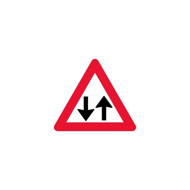 A18 70 cm Modkørende færdsel