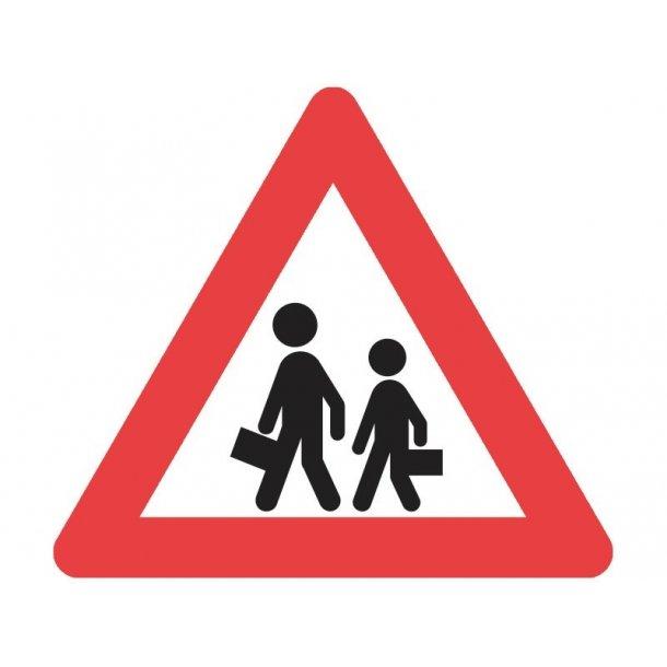 A22 vejskilt 70 cm. Børn. advarselstavle