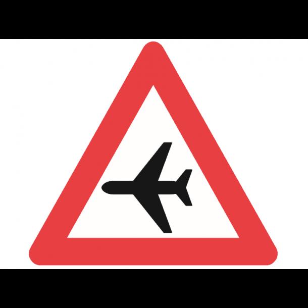 A96, advarselstavle 90 cm, Lavtgående fly